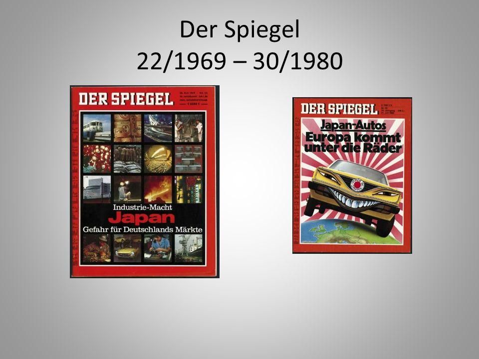 Der Spiegel 22/1969 – 30/1980