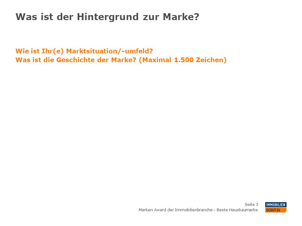 bewerbung zum marken award der immobilienbranche ppt herunterladen. Black Bedroom Furniture Sets. Home Design Ideas