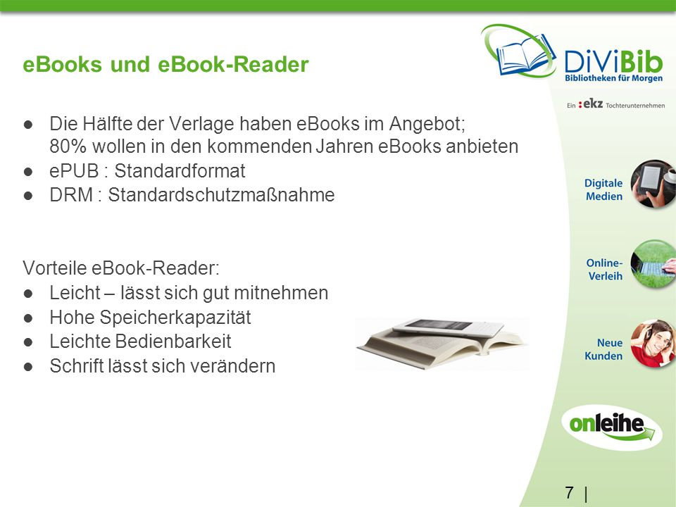 eBooks und eBook-Reader