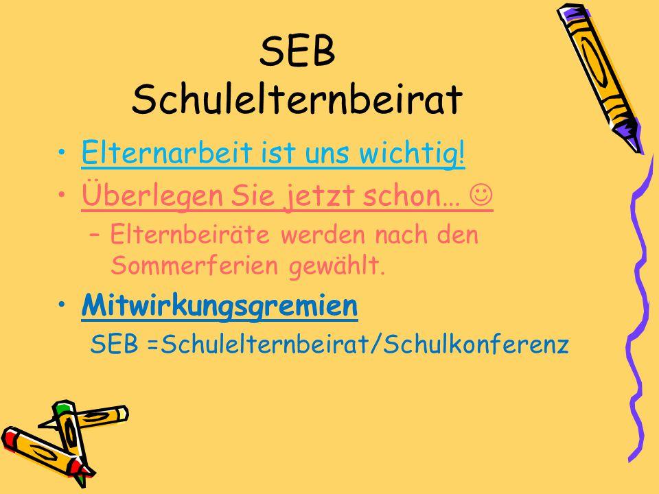 SEB Schulelternbeirat