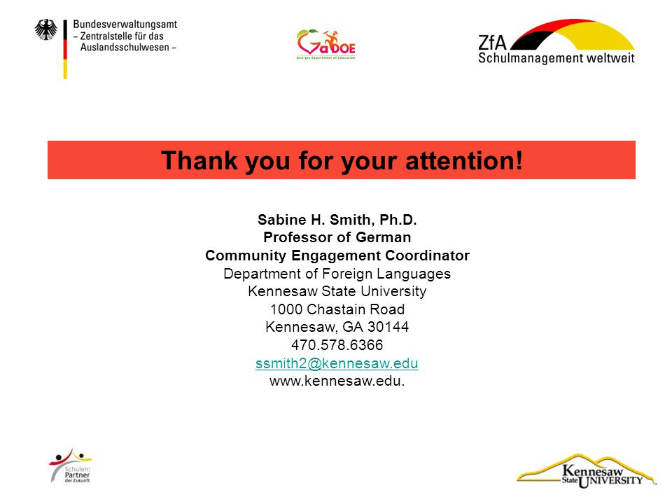 Thank you for your attention! Community Engagement Coordinator