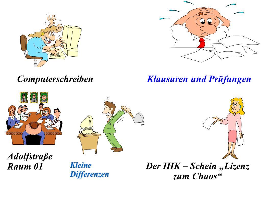 """Der IHK – Schein """"Lizenz zum Chaos"""
