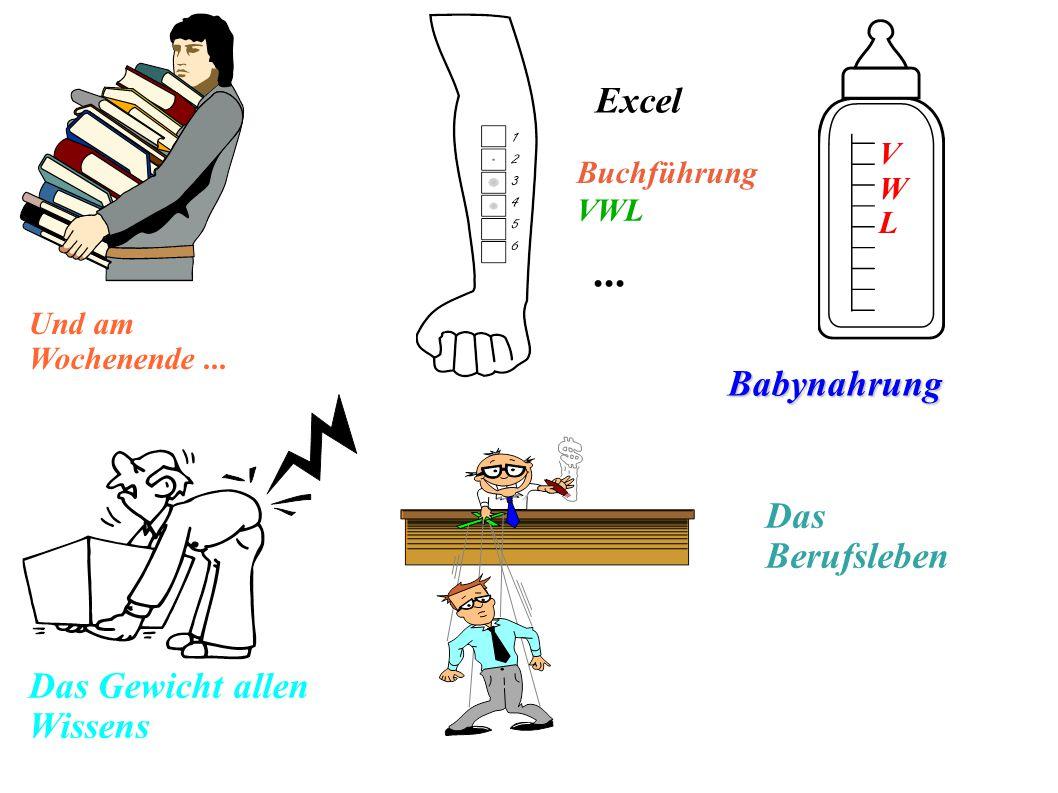 ... Excel Babynahrung Das Berufsleben Das Gewicht allen Wissens V