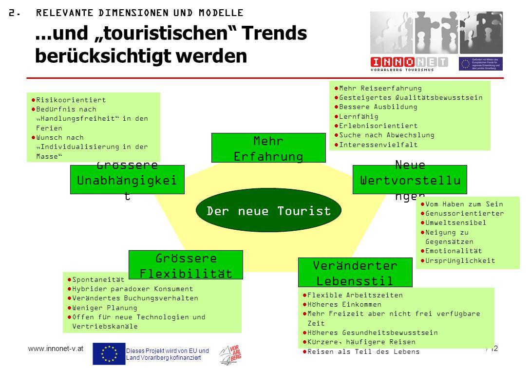 """...und """"touristischen Trends berücksichtigt werden"""