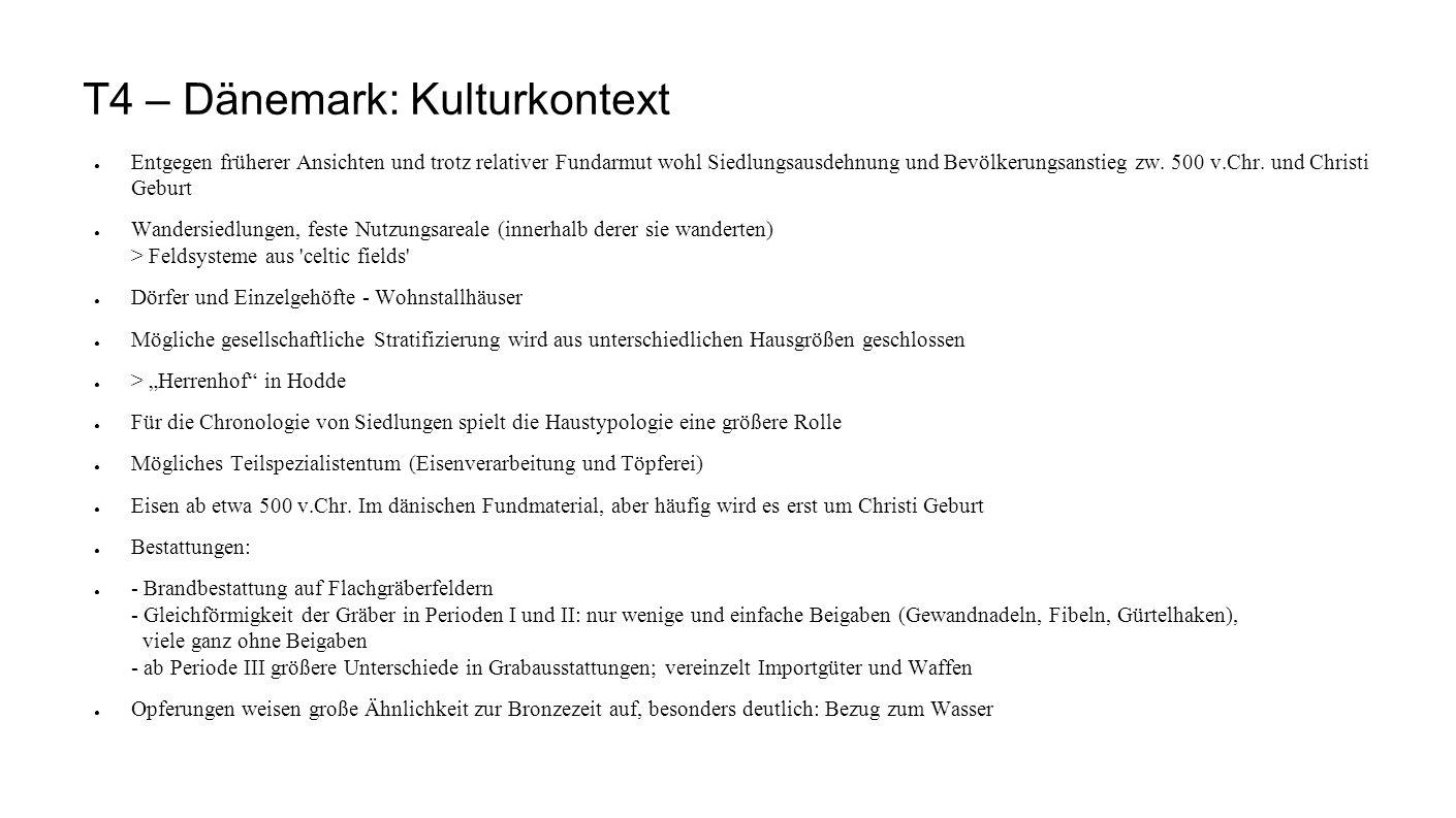 T4 – Dänemark: Kulturkontext