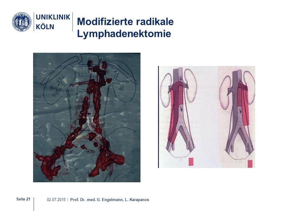 Modifizierte radikale Lymphadenektomie