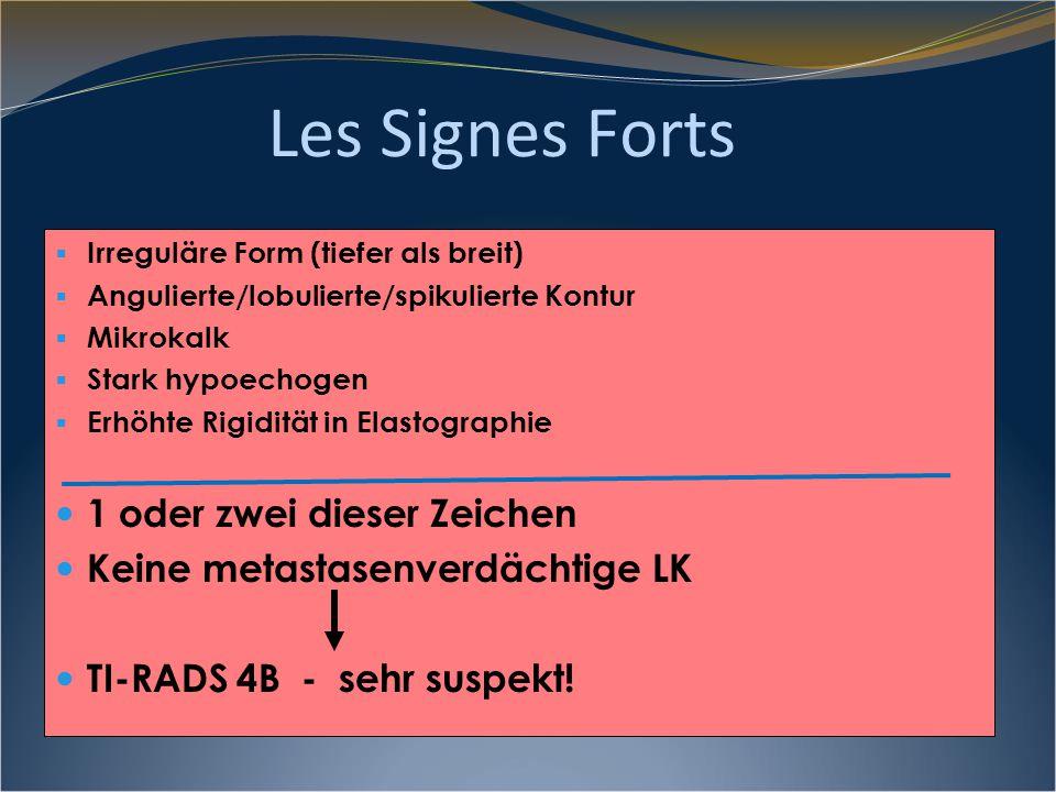 Les Signes Forts 1 oder zwei dieser Zeichen