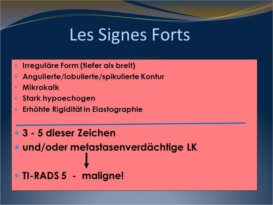 Les Signes Forts 3 - 5 dieser Zeichen
