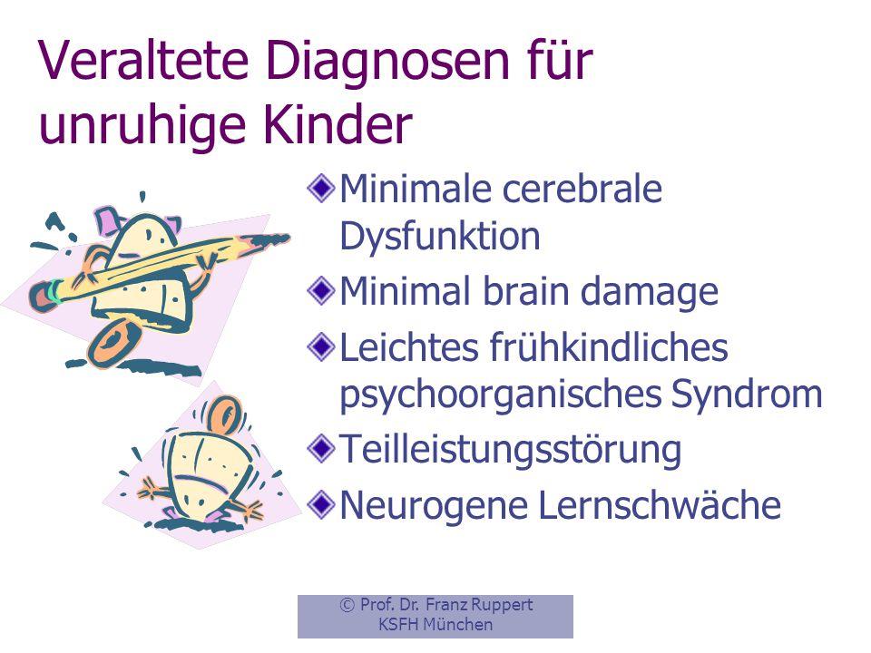 Veraltete Diagnosen für unruhige Kinder