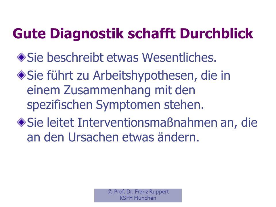 Gute Diagnostik schafft Durchblick