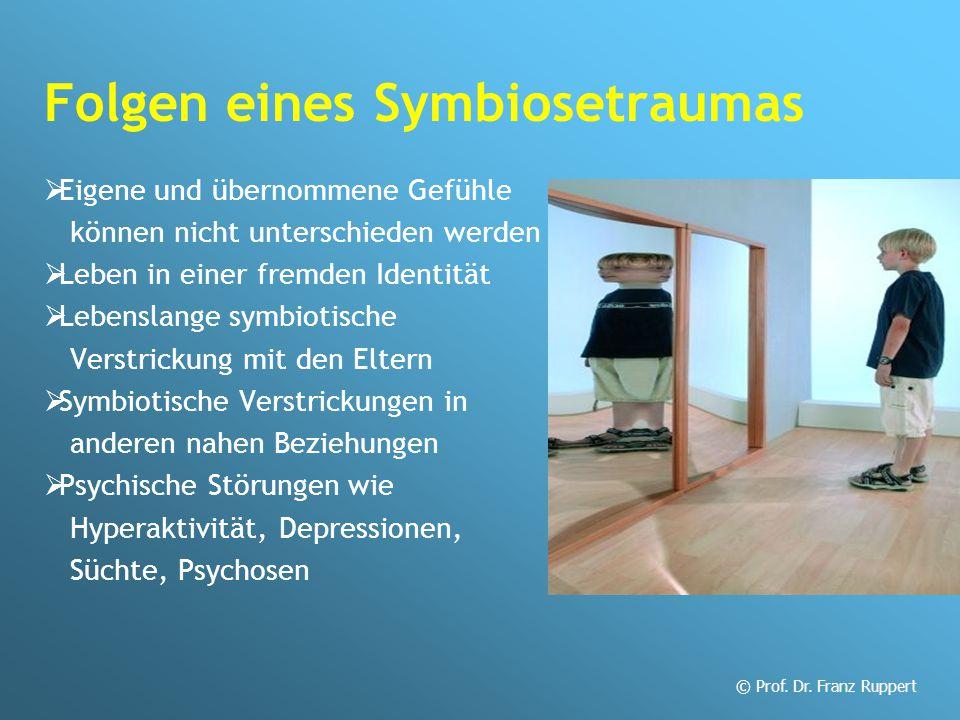Folgen eines Symbiosetraumas