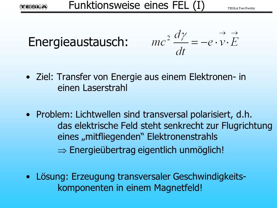 Funktionsweise eines FEL (I)
