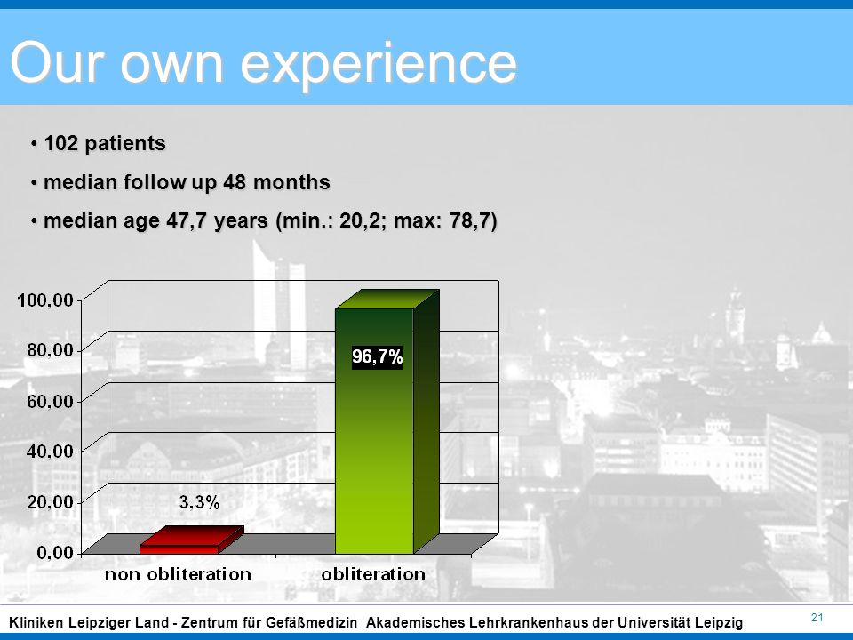 Endoluminale Behandlungen 2011