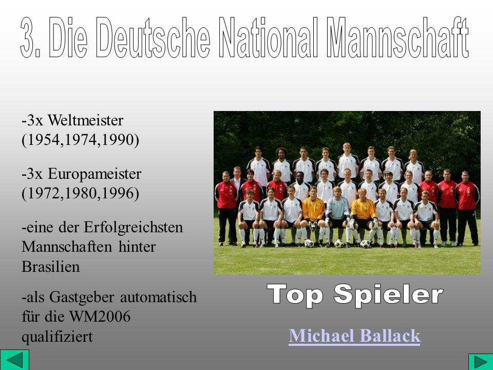 3. Die Deutsche National Mannschaft