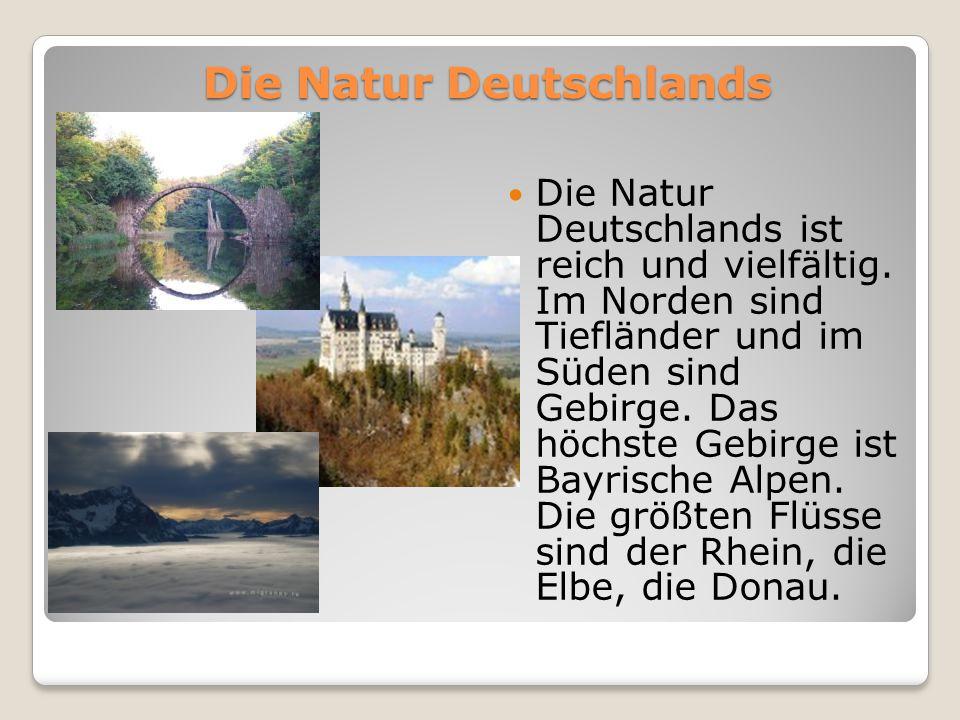 Die Natur Deutschlands