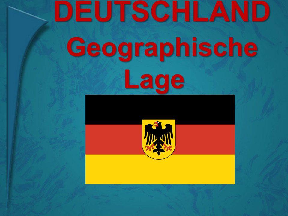 geographische lage deutschlands in europa