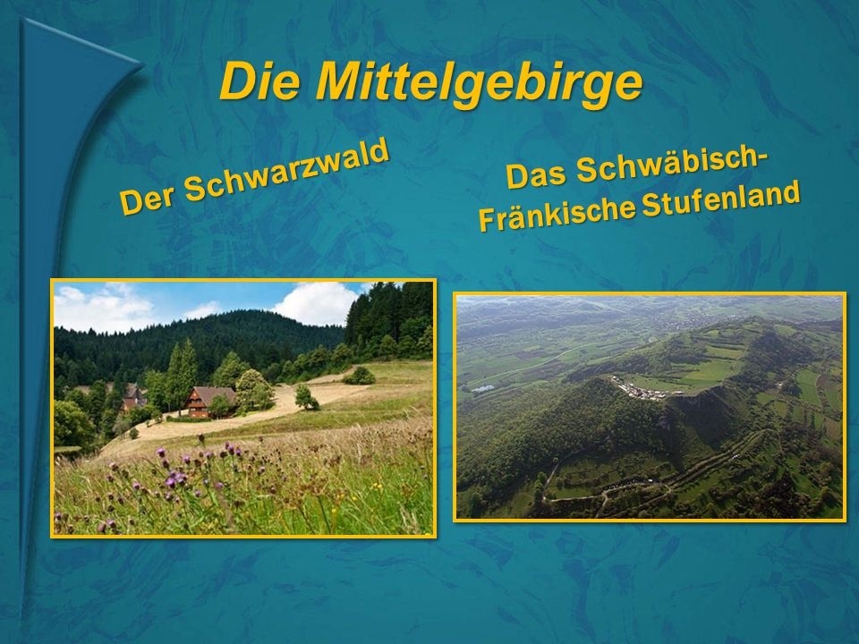 Das Schwäbisch-Fränkische Stufenland