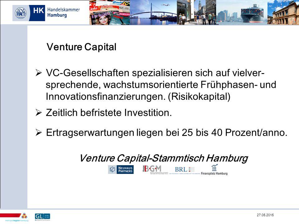 VC-Gesellschaften spezialisieren sich auf vielver-