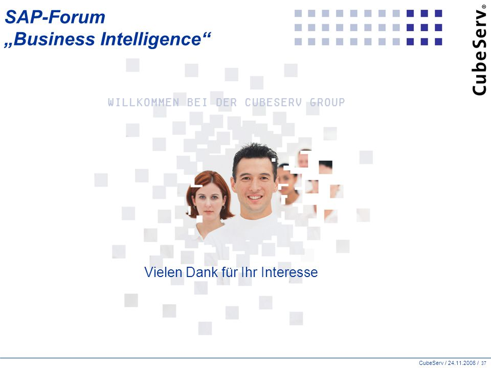 "SAP-Forum ""Business Intelligence"