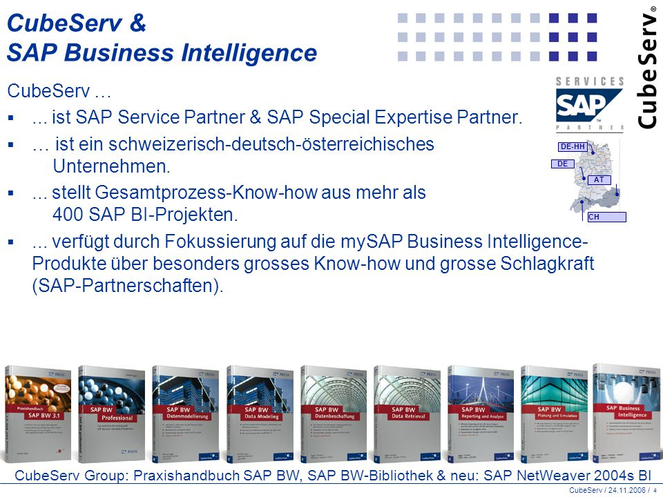 CubeServ & SAP Business Intelligence