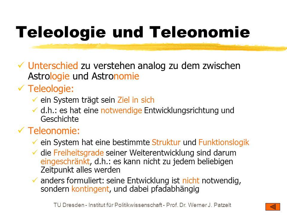 Teleologie und Teleonomie