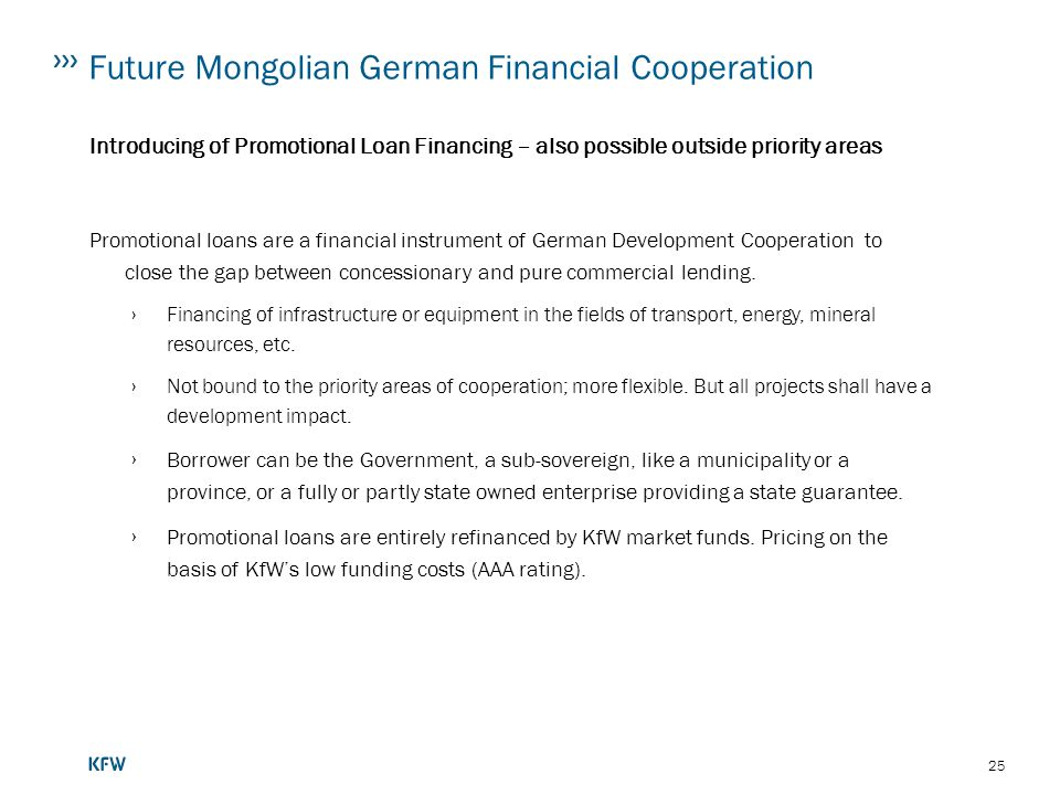 Future Mongolian German Financial Cooperation