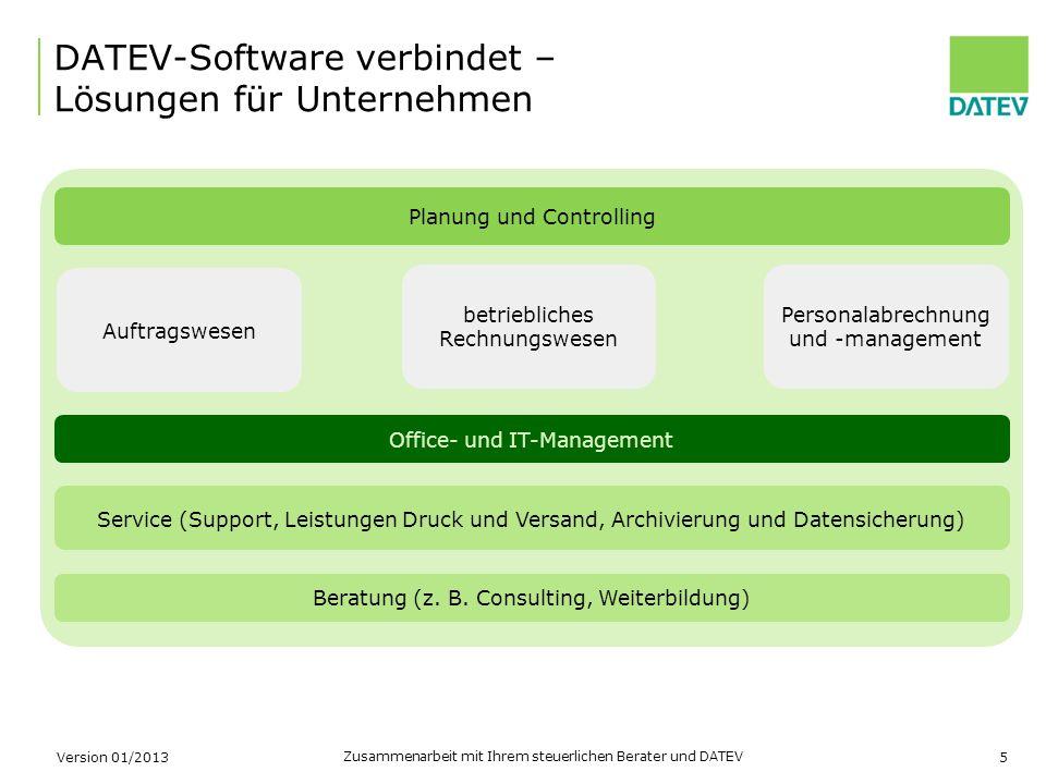 DATEV-Software verbindet – Lösungen für Unternehmen