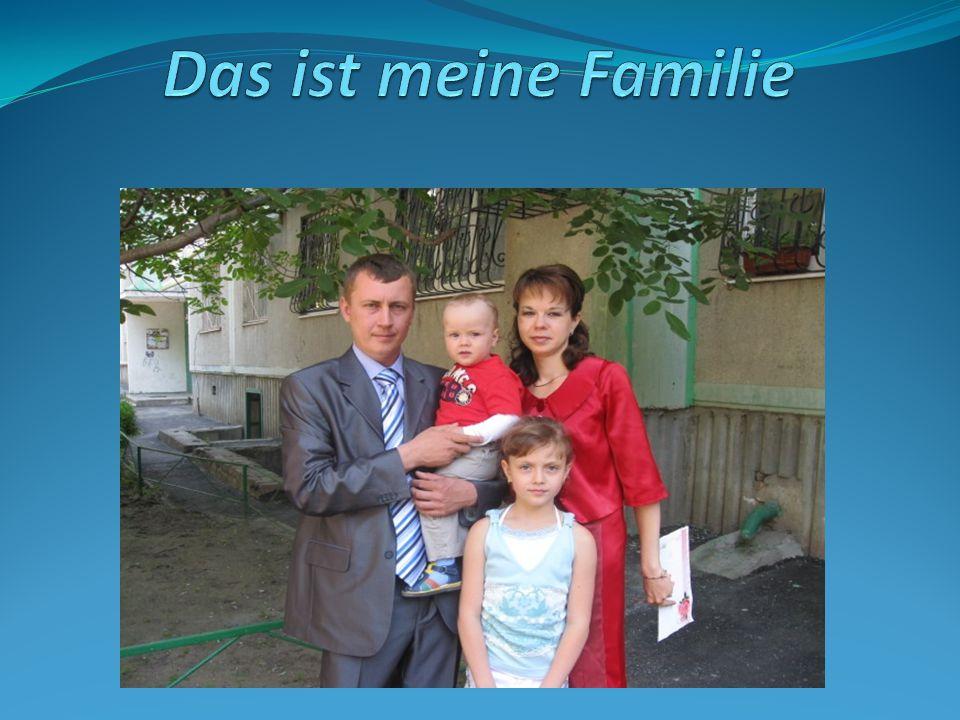 Das ist meine Familie