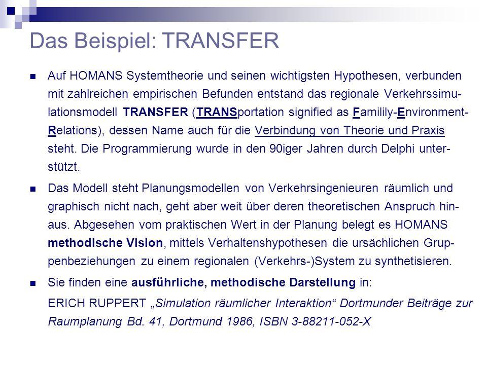 Das Beispiel: TRANSFER