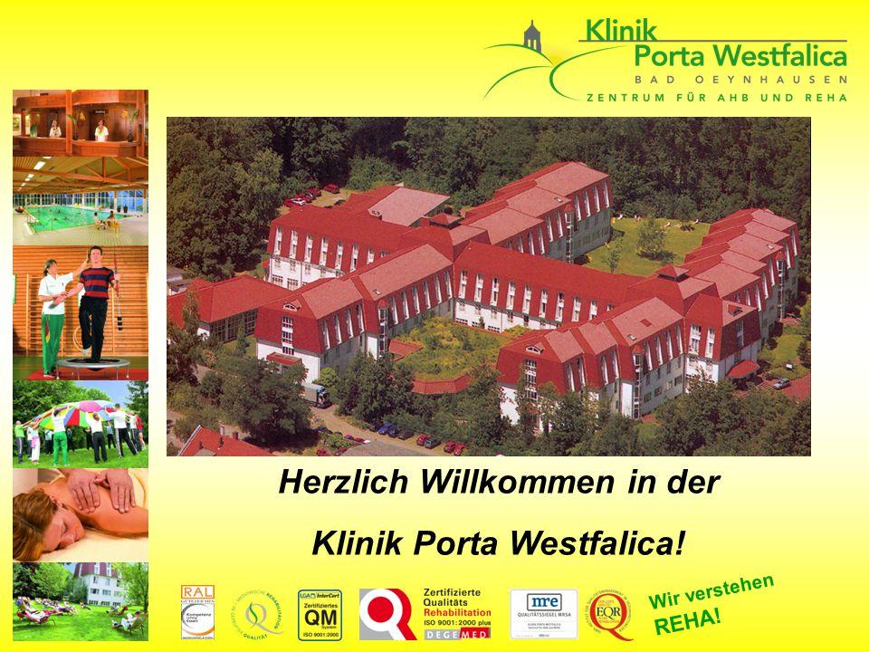 Herzlich Willkommen in der Klinik Porta Westfalica!