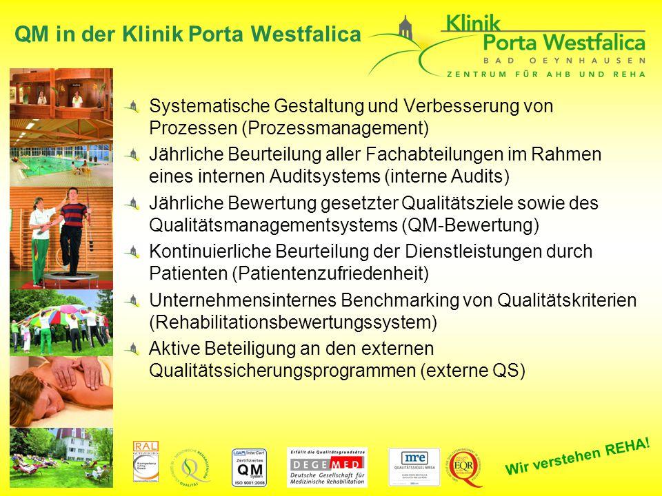 QM in der Klinik Porta Westfalica