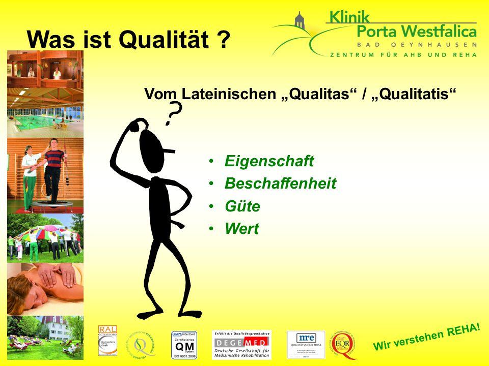 """Was ist Qualität Vom Lateinischen """"Qualitas / """"Qualitatis"""
