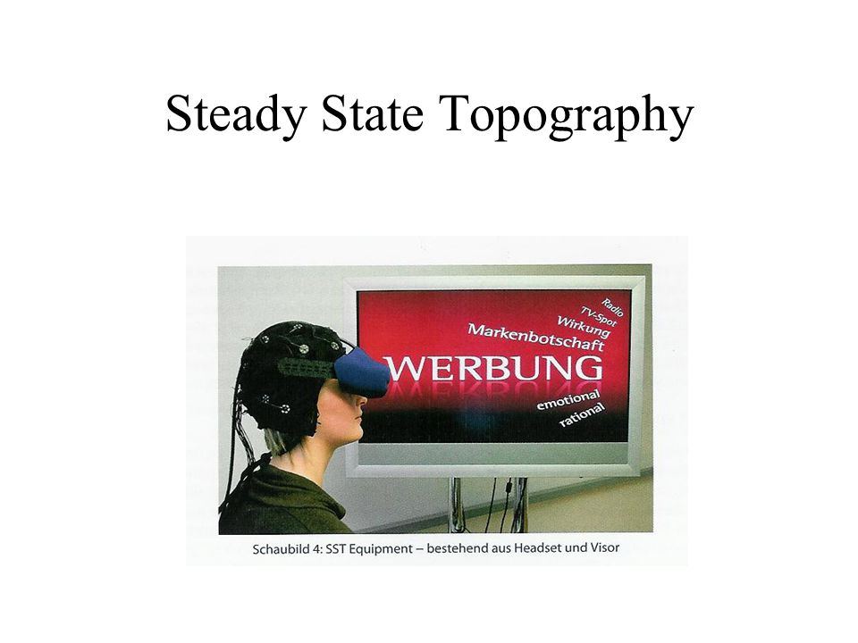 Steady State Topography