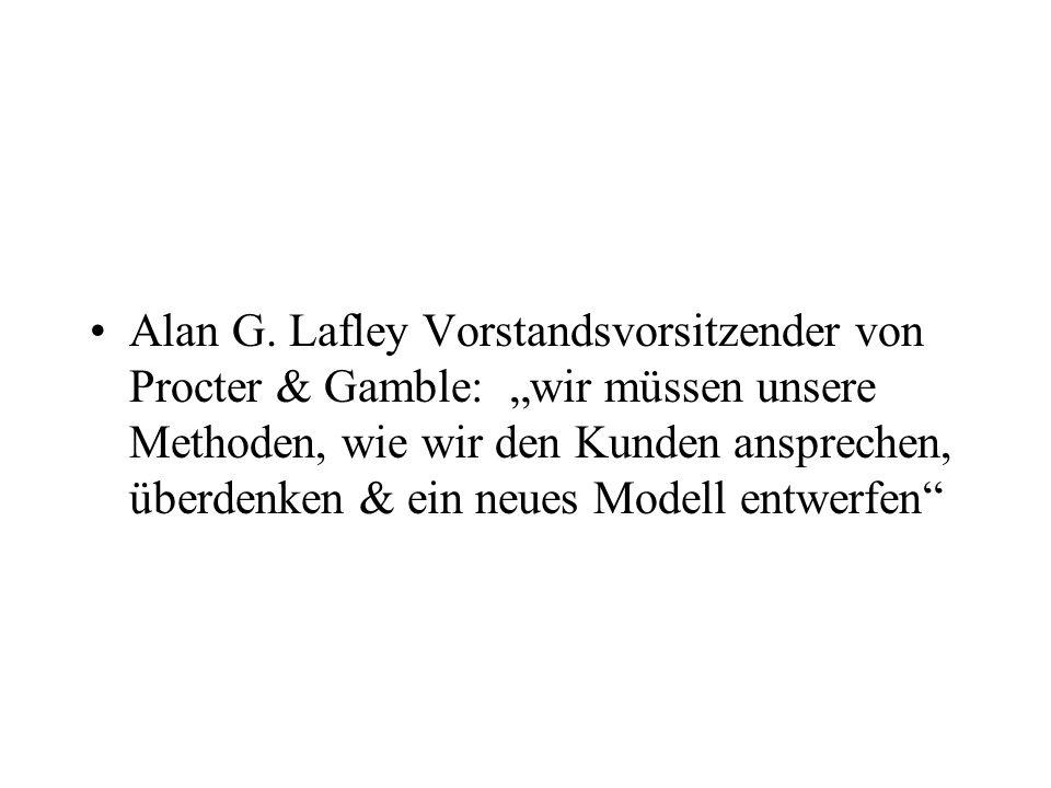 Alan G. Lafley Vorstandsvorsitzender von Procter & Gamble: