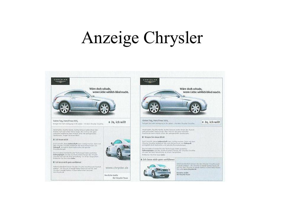 Anzeige Chrysler