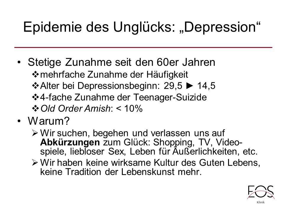 "Epidemie des Unglücks: ""Depression"