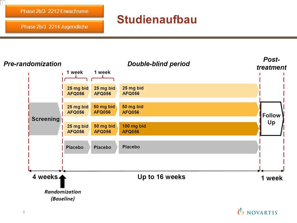Phase 2b/3 2212 Erwachsene Studienaufbau Phase 2b/3 2214 Jugendliche
