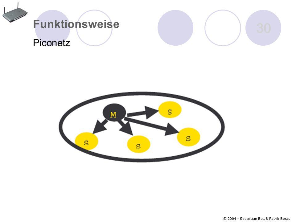 Funktionsweise Piconetz 30 © 2004 - Sebastian Bott & Patrik Boras
