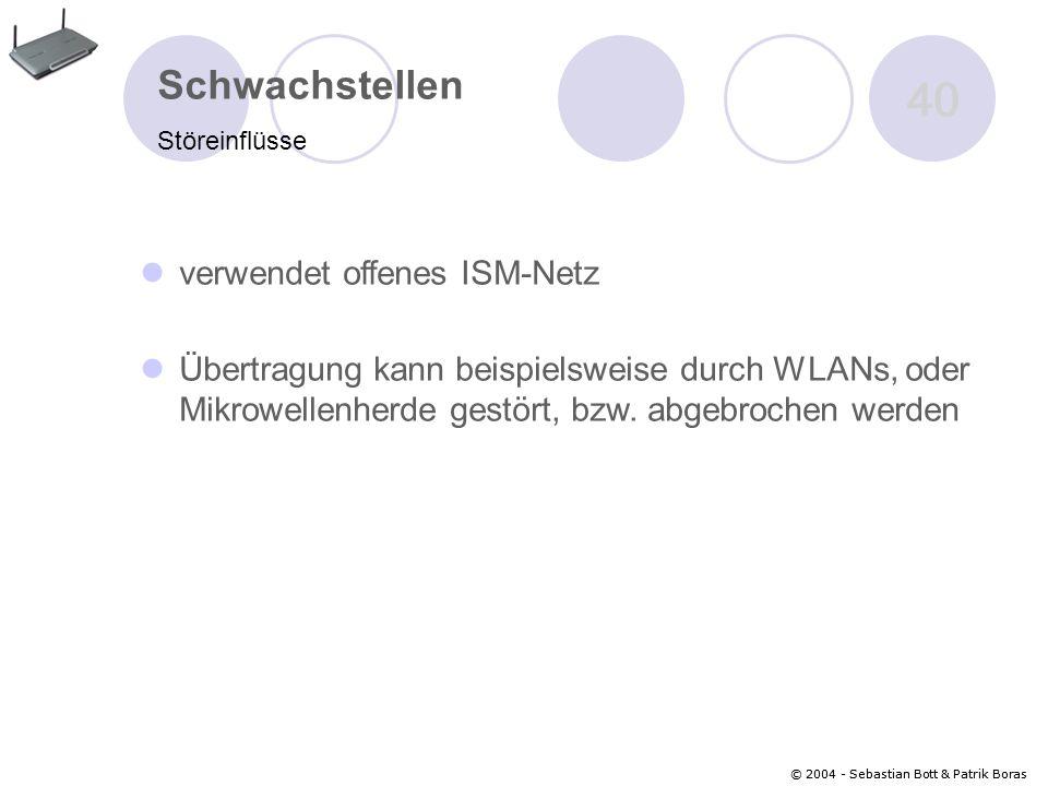 40 Schwachstellen verwendet offenes ISM-Netz