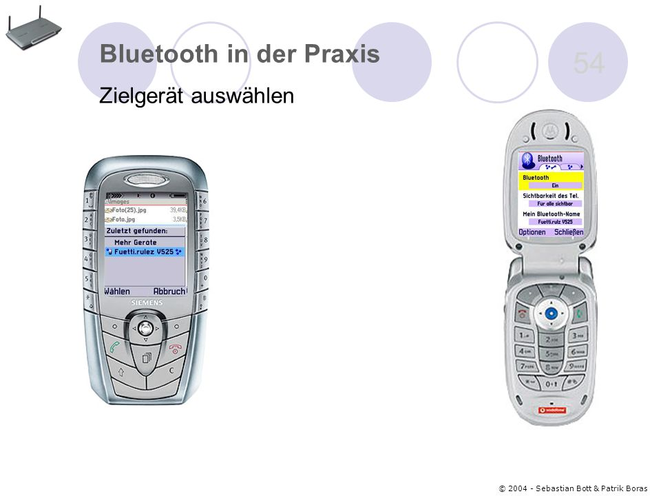 Bluetooth in der Praxis