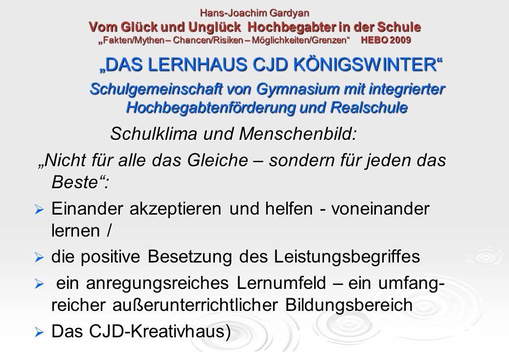 """""""DAS LERNHAUS CJD KÖNIGSWINTER"""