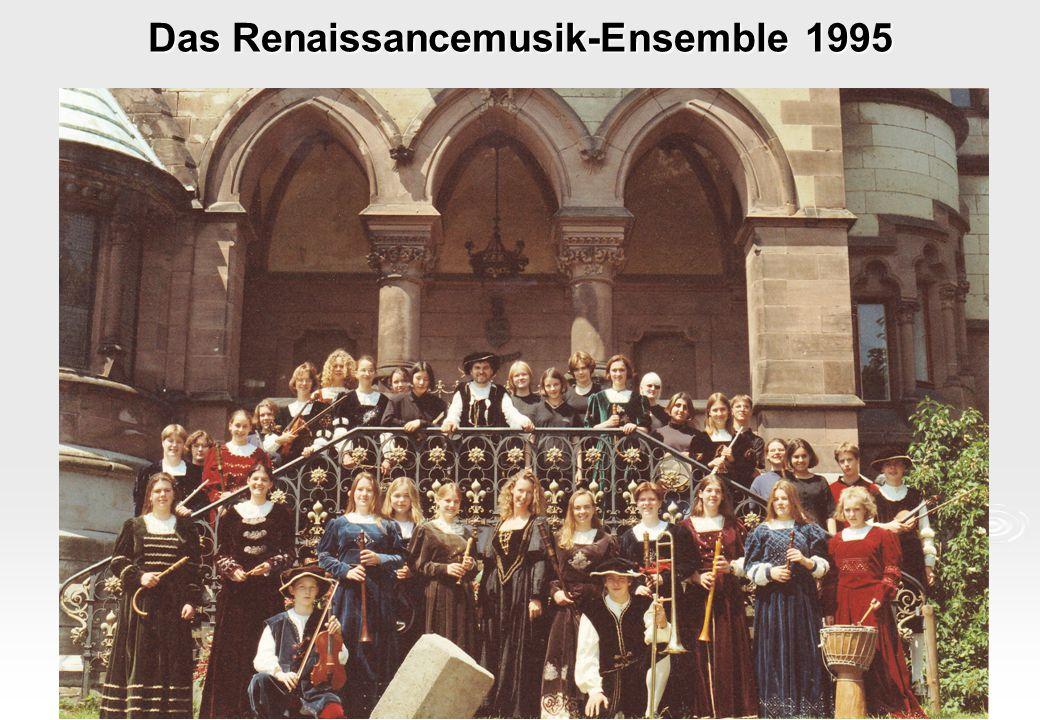 Das Renaissancemusik-Ensemble 1995