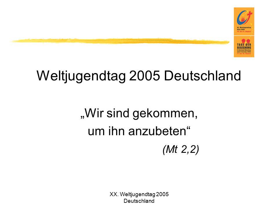Weltjugendtag 2005 Deutschland