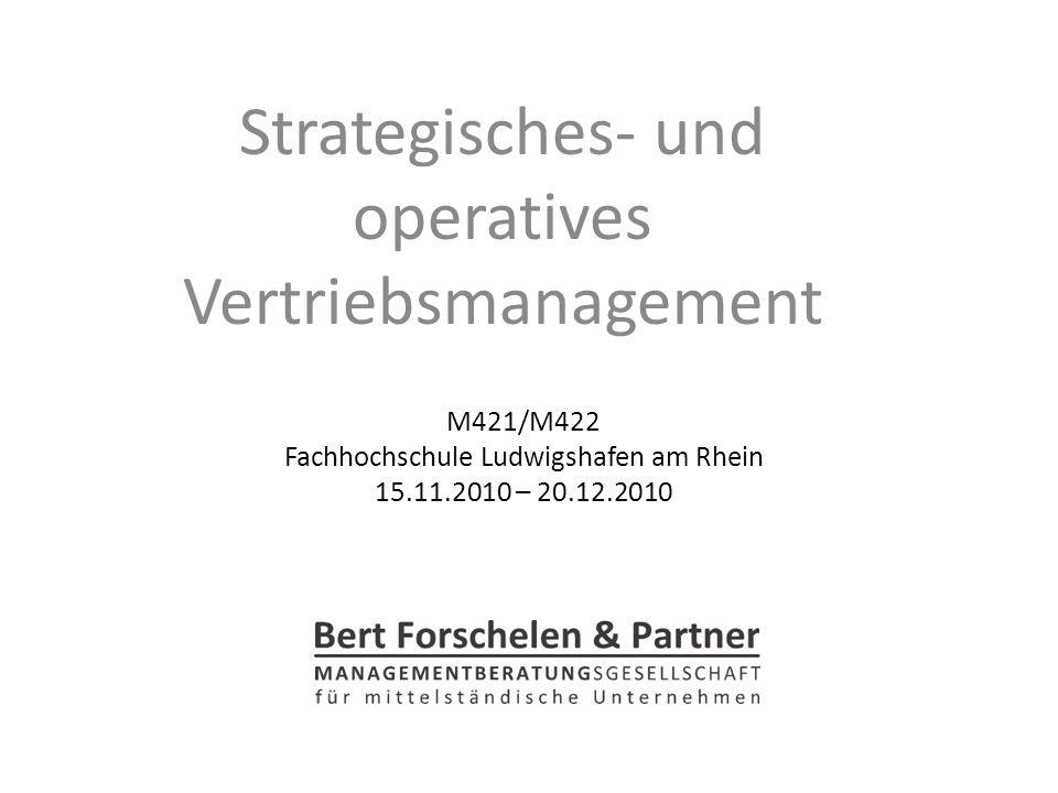 M421/M422 Fachhochschule Ludwigshafen am Rhein 15.11.2010 – 20.12.2010