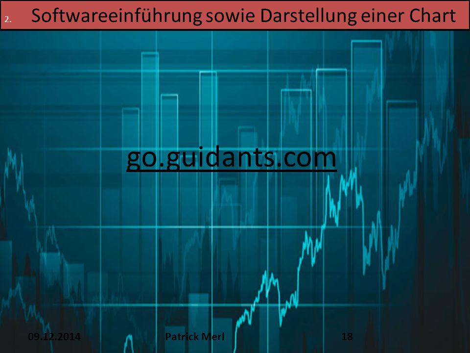 go.guidants.com Softwareeinführung sowie Darstellung einer Chart TEXT