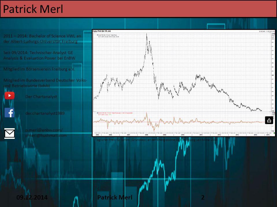 Patrick Merl TEXT 16.12.14 09.12.2014 Patrick Merl 2 2