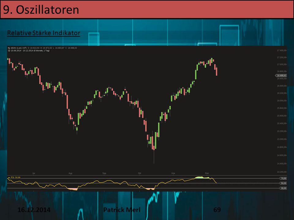 9. Oszillatoren TEXT 16.12.14 Relative Stärke Indikator 16.12.2014