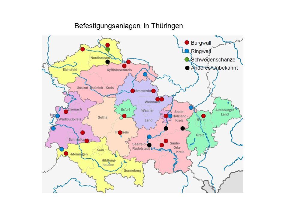 Befestigungsanlagen in Thüringen
