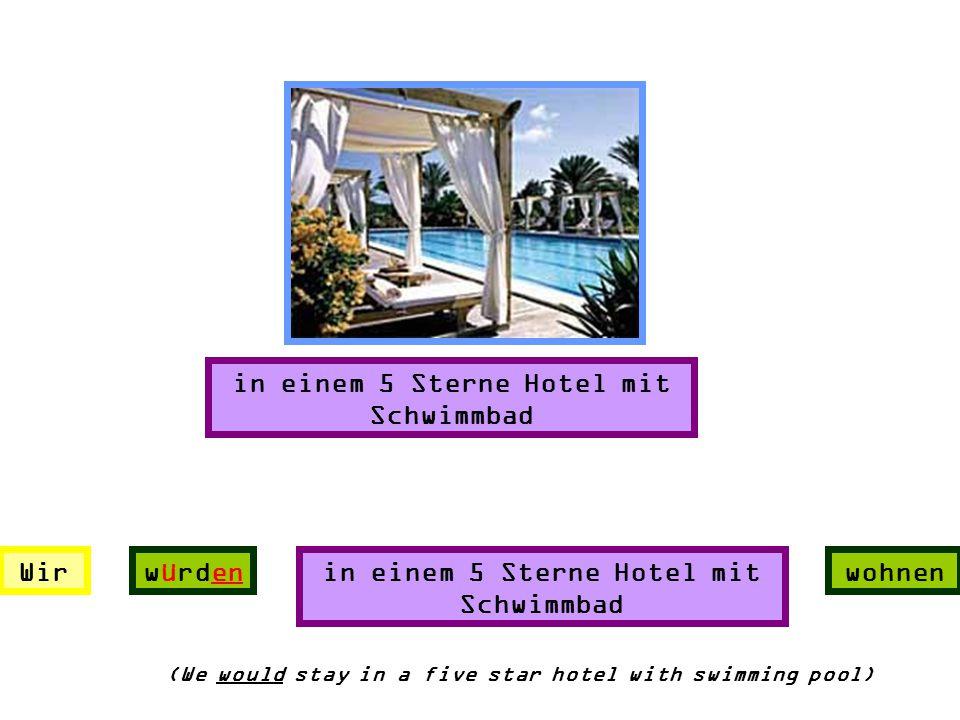 in einem 5 Sterne Hotel mit Schwimmbad