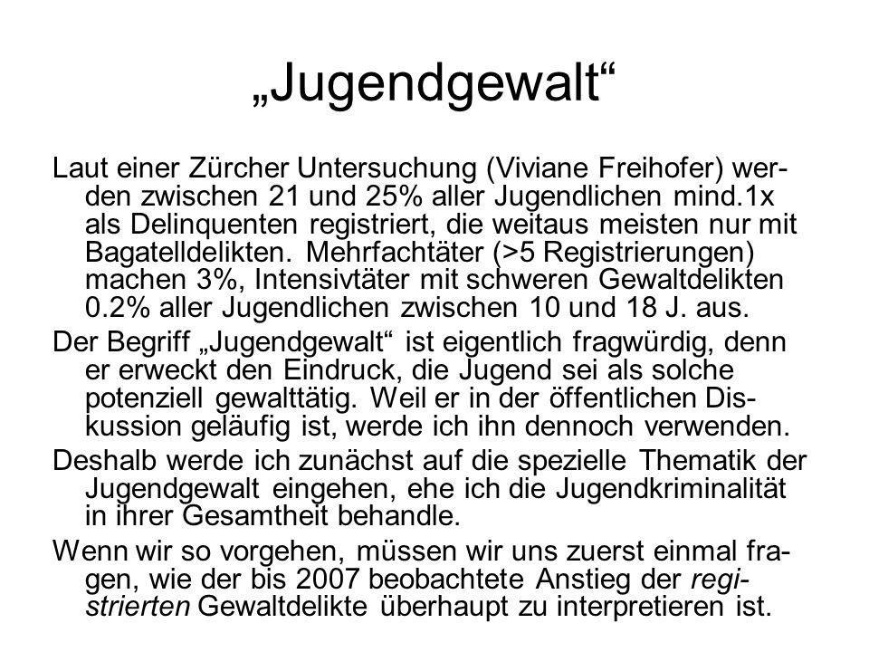 """""""Jugendgewalt"""